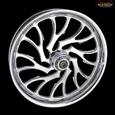 "Kawasaki ZX14R Chrome Wheels "" The Nightmare"" by FTD Customs  ZX14 Wheels"