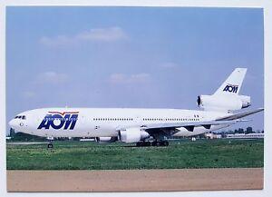 AOM Air Outre Mer Douglas DC-10-30 Postcard