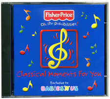 Classical Moments for You CD  Fisher Price Babies  Relax music 4 mum new&wrapped