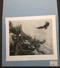 BUILDING FOR NEW GENERATION (Eagle) Robert Copple S/# Edition 980 NIF
