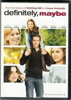 Definitely, Maybe DVD Bilingual FREE SHIPPING IN CANADA