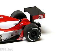 Nuevo Genuino Scalextric W9356 Dallara Indy Car Trasero Ala Alerón para (C2650)
