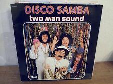 "LP 12"" TWO MAN SOUND - Disco Samba - EX/EX - VOGUE LD.20324 FRANCE Lou Deprijck"