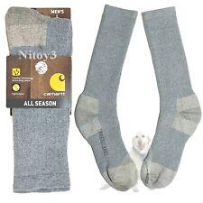 Carhartt Work Boots Socks All Season Breathable-Resist Odor Crew Men Large