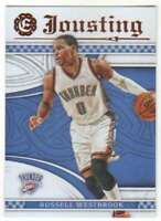 2016-17 Panini Excalibur Basketball Jousting #4 Russell Westbrook Thunder