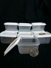 10 New Mini Clear Plastic Small Boxes With Lid Container Storage Craft Gadgets