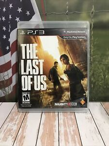 PS3 PlayStation Video Game Region 1 The Last of Us Mature Havok Used VG+