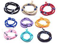 Evil eye string bracelet, many colors to choose from, Greek jewelry