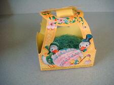 Vintage See's candy paper Easter basket