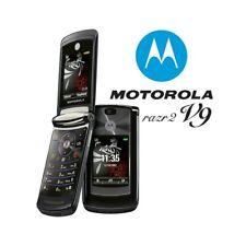 TELEFONO CELLULARE MOTOROLA RAZR2 V9 NERO UMTS 3G FOTOCAMERA USATO.