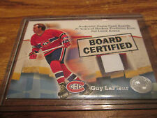 2001 FLEER BOARD CERTIFIED GUY LAFLEUR SWEET CARD