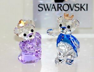 Swarovski Original Figures Crystal Prince & Princess 5301569 New with Packaging