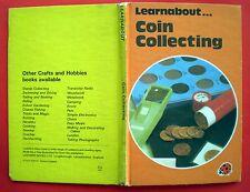 Coin Collecting Ladybird vintage book hobbies treasure decimal metals monarchy