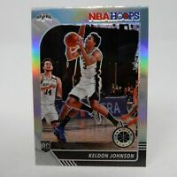 KELDON JOHNSON 2019-20 NBA Hoops Premium Stock Silver Prizm Refractor RC Rookie
