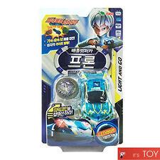 Power Battle Watch Car Frone Battle Bumper Car Light & Go Green Leo Watchcar