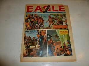 EAGLE Comic - Year 1962 - Vol 13 - No 27 - Date 07/07/1962 - UK Paper Comic