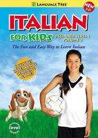 Italian for Kids Beginner Level 1 Volume 2 Learn Italian Language lessons DVD