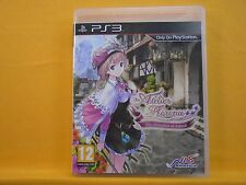 ps3 ATELIER RORONA The Alchemist Of Arland An RPG Action Game PAL UK REGION FREE