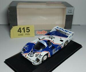 Quartzo - Porsche 956 Short Tail D&W Winner Norisring 1985 - with Case & Box