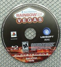 Tom Clancy's Rainbow Six: Vegas Greatest Hits (Sony  PS3, 2007) Game Disc Only