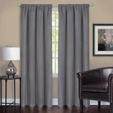 Achim HYPN84GY06 Harmony Blackout Window Curtain Panel 52X84 Grey New NEW