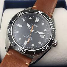 Miyota Automatic Men Mechanical Wristwatch Ceramic Bezel Luminous Mark Sapphire
