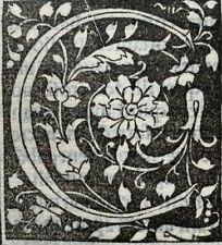 1498 LARGE FRAGMENT of 10 LEAVES - COMMENTARIA IN BIBLIAM, ORIGINAL Incunabula