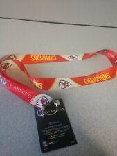 Kansas city chiefs super bowl Champion Lanyard
