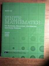 Finite Mathematics For Business, Economics, Life Sciences - Barnett 12th Edition