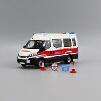 AURORA 1/43 Resin Police Truck Modell IVECO Daily Emergency (EU) Version