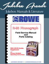 Rowe Model R-93 Service Manual, Parts, Troubleshooting, Cd/45 Combo Supplement