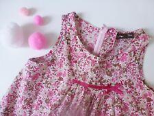 Bout'chou***Magnifique robe/dress 3 ans 94 cm Liberty rose  Printemps/été