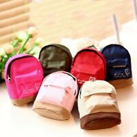 Mini Wallet Small Backpack Coin Card Purse Handbag Keys Pouch Girl Zipper Bag