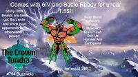 Pokemon Sword And Shield Shiny Buzzwole 6IV Battle Ready Fast Delivery