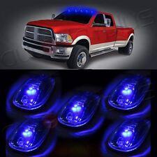 For 2003-12 Dodge Ram Cab marker Light +5xT10 168 5-5050SMD Blue LED Marker Lamp