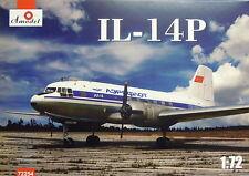 Iljuschin IL-14 P, AEROFLOT,1:72, Amodel, Plastik,  Neu