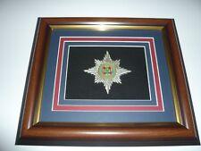 irish guards wire blazer crest  BRITISH ARMY 12 X 10inches FRAME the micks