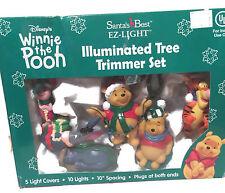 Disney Winnie the Pooh Illuminated Tree Trimmer Light Set TESTED EZ Light