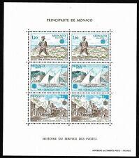 Timbres Monaco Bloc Feuillet 1979 EUROPA N°17 Neuf Sans Charnière