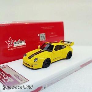 Porsche Gunther Werks 400R (993) Hornet Yellow FUELME 1/64 #FM64005PG-B
