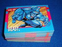 1992 Marvel X-Men Series 1 (Impel) Jim Lee 1-100 Base Set Missing #100