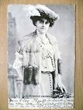 1903 Postcard- Actress MISS IRENE VANBRUGH, No. 1053 P + Stamp