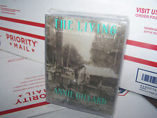 The Living by Annie Dillard (Cassette, Abridged) 4 CASSETTES NEW AND SEALED!