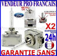 2 D1S AMPOULES XENON LAMPE FEU PHARE 35W HID 5000 6000 POUR FORD GALAXY Mk2 WA6
