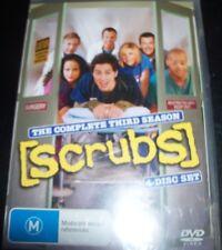Scrubs The Complete Third Season 3 (Australia Region 4) DVD – New