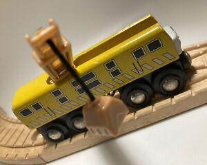BRIO BRAND Thomas Wooden Railway Diesel 10 1996 HTF Britt Allcroft Train Set Toy