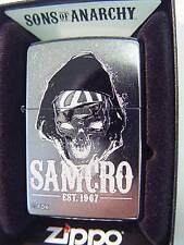 Zippo® SAO Sons of Anarchy SAMCRO EST 1967 New / Neu OVP