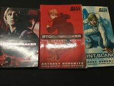 2 x Alex Rider Graphic Novels Stormbreaker + Pointblanc + Extra Book Of The Film