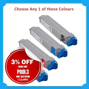 Any 1x CT 44059136/44059135/44059134/44059133 Toner Cart for OKI C810N/C830N