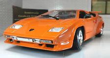G Scala 1:24 Lamborghini Countach 5000 QV Quattrovalvole Automodello Metallo